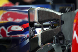 The f-duct on the Red Bull Racing