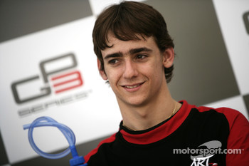 Esteban Gutierrez in the press conference