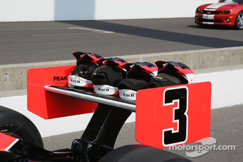 Team helmets for Helio Castroneves, Team Penske