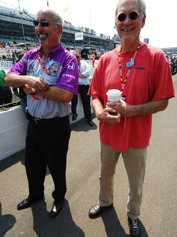 Bobby Rahal and David Letterman