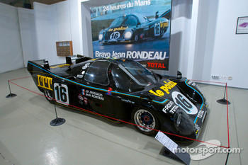Ceremony to commemorate Jean Rondeau and Jean-Pierre Jaussaud 30th anniversary in the 1980 24 Hours of Le Mans: the winning Rondeau M379B on display