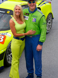 Tracy Krohn with his wife