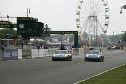 #77 Team Felbermayr-Proton Porsche 911 GT3 RSR: Marc Lieb, Richard Lietz, Wolf Henzler takes the win in the LMGT2 class