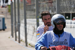 Fernando Alonso, McLaren retired from the race