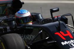 Fernando Alonso, McLaren MP4-31 on track