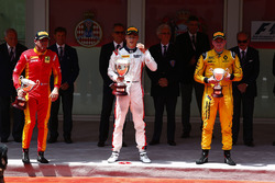 Podium: winner Artem Markelov, RUSSIAN TIME, second place Norman Nato, Racing Engineering, third place Oliver Rowland, MP Motorsport