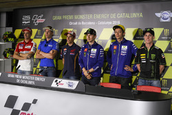 Andrea Iannone, Ducati Team, Aleix Espargaro, Team Suzuki Ecstar MotoGP, Marc Marquez, Repsol Honda Team, Jorge Lorenzo, Yamaha Factory Racing, Valentino Rossi, Yamaha Factory Racing, Pol Espargaro, Monster Yamaha Tech 3