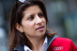 #7 Audi Sport Team Joest Audi R18: Renningenieur Leena Gade