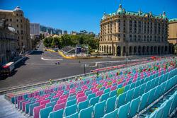 Baku city circuit, turn 16