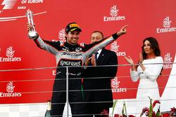 Серхіо Перес, Sahara Force India F1 святкує своє третє місце на подіумі