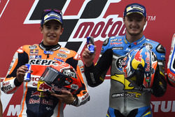 Podium: winner Jack Miller, Marc VDS Racing Honda, second place Marc Marquez, Repsol Honda Team