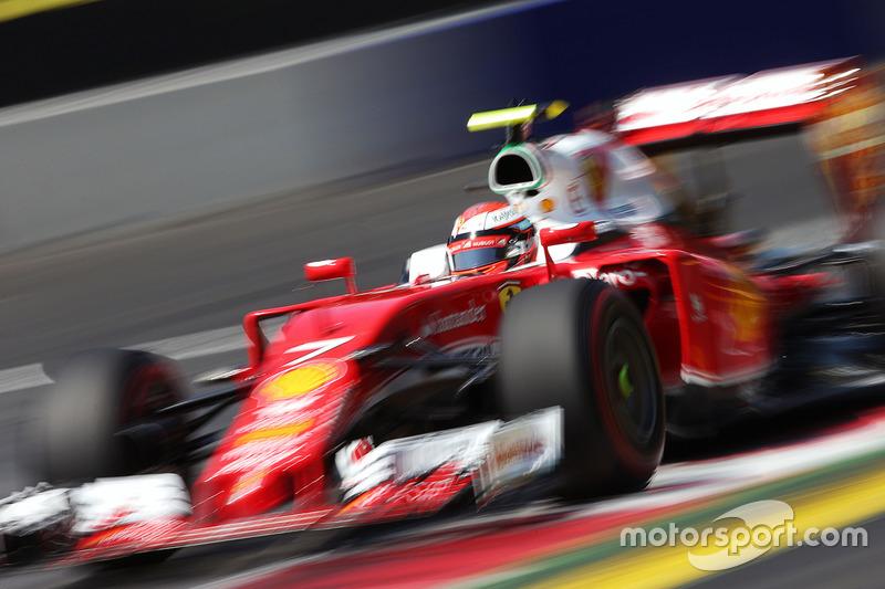 4: Кімі Райкконен, Ferrari SF16-H