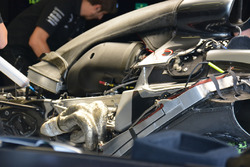 Mercedes, cover engine