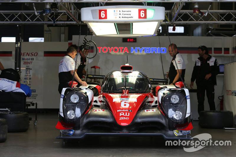 #6 Toyota Racing Toyota TS050 Hybrid