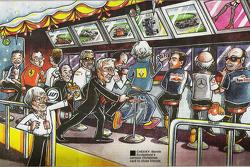 Bernie Ecclestone 2008 Christmas Card