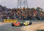 Gilles Villeneuve and Ren Arnoux