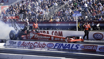 Brandon Bernstein 2009 NHRA Auto Club Finals