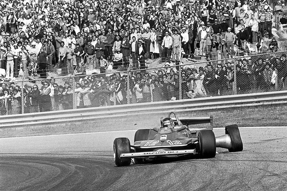 Only Gilles Villeneuve