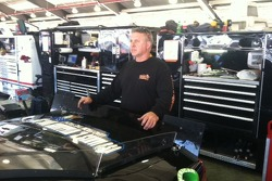 JCR tire specialist Eddie Pearson has his game face on.