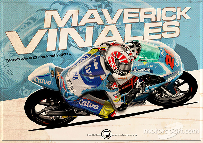 Maverick Vinales - Moto3 2013