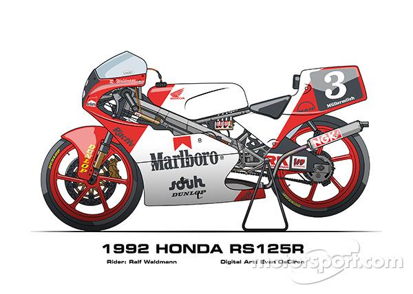 Honda RS125R - 1992 Ralf Waldmann