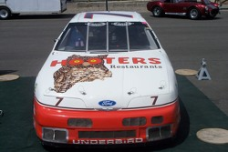 Alan Kulwicki Hooters Thunderbird in the paddock at Reno Fernley Raceway
