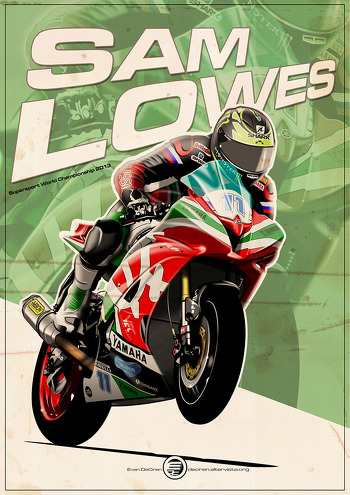 Sam Lowes - 600SP 2013