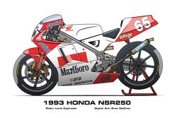 Honda NSR250 - 1993 Loris Capirossi