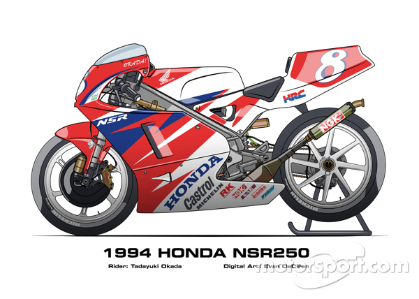 Honda NSR250 - 1994 Tadayuki Okada