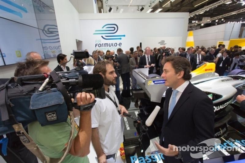 FIA Formula E Championship announcing its new TV broadcast deal