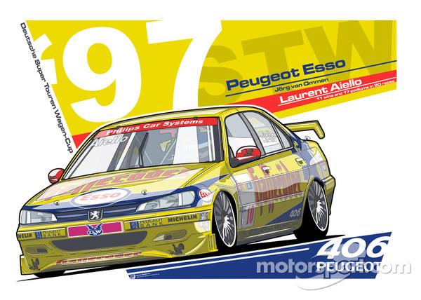 PEUGEOT 406 - STW 1997