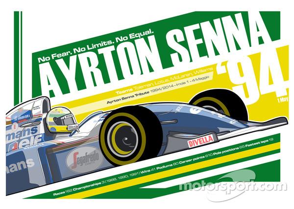 Ayrton Senna - F1 1994 Tribute
