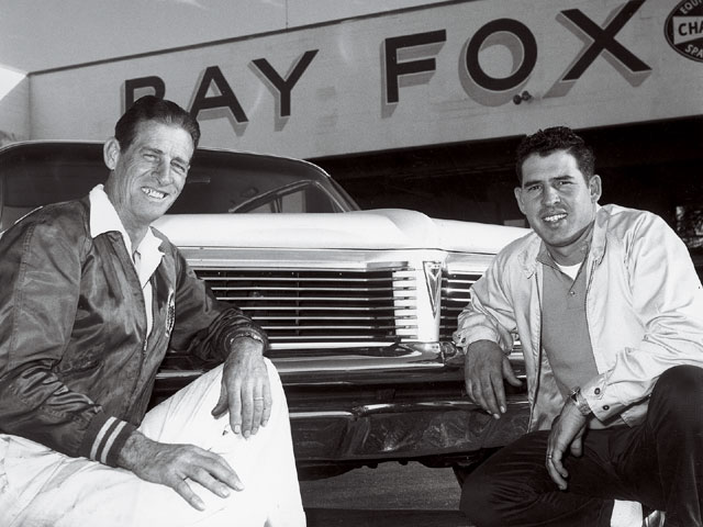 Ray Fox with David Pearson