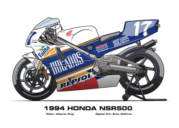 Honda NSR500 - 1994 Alberto Puig