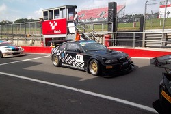 M3 in the pit lane