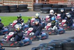 Callum Kirkpatrick karting