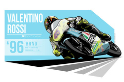 Valentino Rossi - 1996 Brno