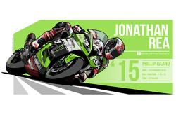 Jonathan Rea - 2015 Phillip Island