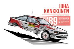 Juha Kankkunen - 1989 Australia