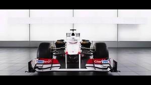 Sauber C30-Ferrari Trailer