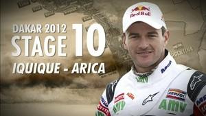 Dakar 2012 - Marc Coma - Stage 10