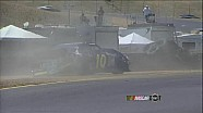 Tommy Drissi's Caution Drawing Wreck - Sonoma 2012