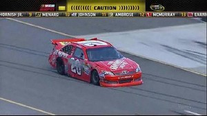 Logano Slaps the Wall - Michigan - 08/19/2012