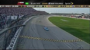 Brad Keselowski Wins - Chicago - 09/16/2012