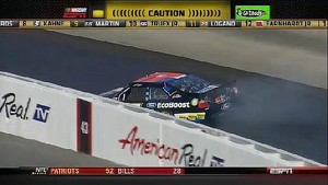 Kenseth's Turn Four Trouble - Dover - 09/30/2012