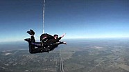 Nissan DeltaWing Skydivers