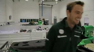 Giedo van der Garde F1 race debut - Melbourne preview