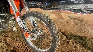 Red Bull X-Fighters World Tour 2013 Dubai: Track Explanation