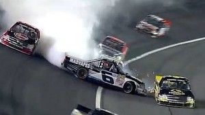 Bubba Wallace Crash at Charlotte!