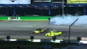 Bubba Wallace crashes out | UNOH 225 NASCAR Kentucky
